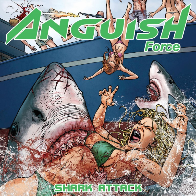 Anguish Force: Shark Attack EP (ItalianMetal.it)