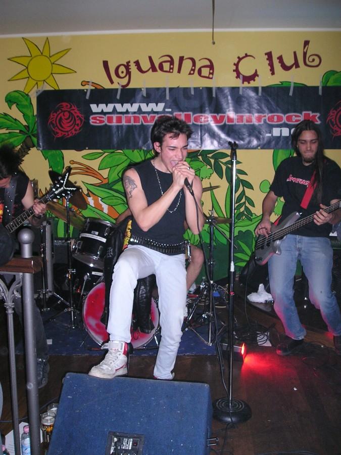 Anguish Force Iguana