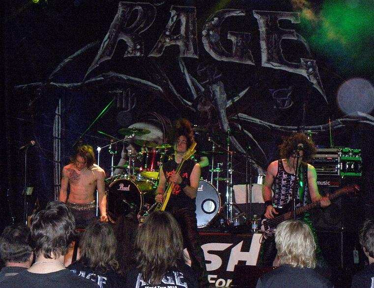 Ufo Bruneck - supporting Rage 47