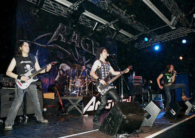 Ufo Bruneck - supporting Rage 50