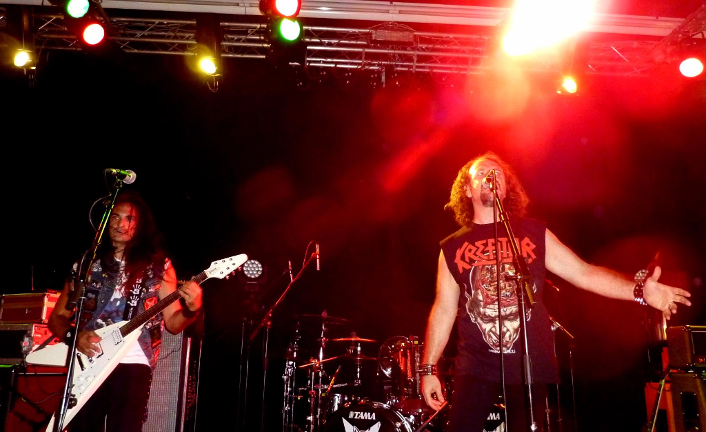 Supporting Sepultura 43