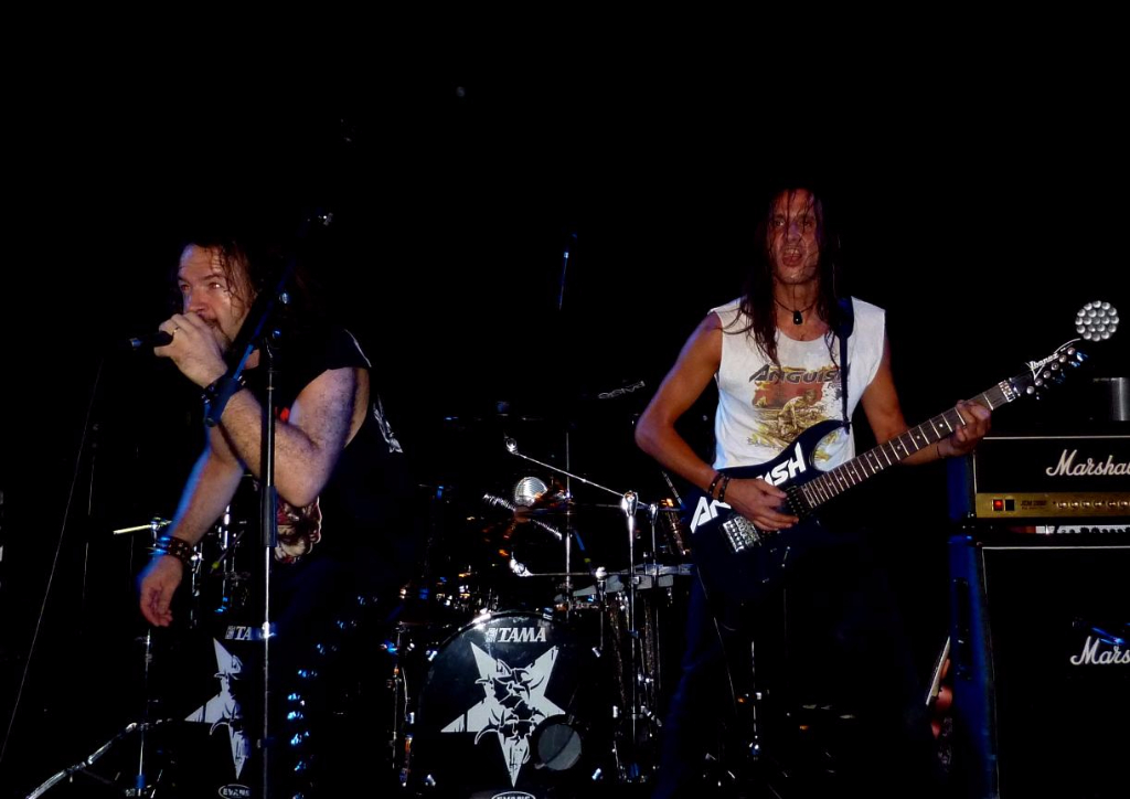 Supporting Sepultura 54