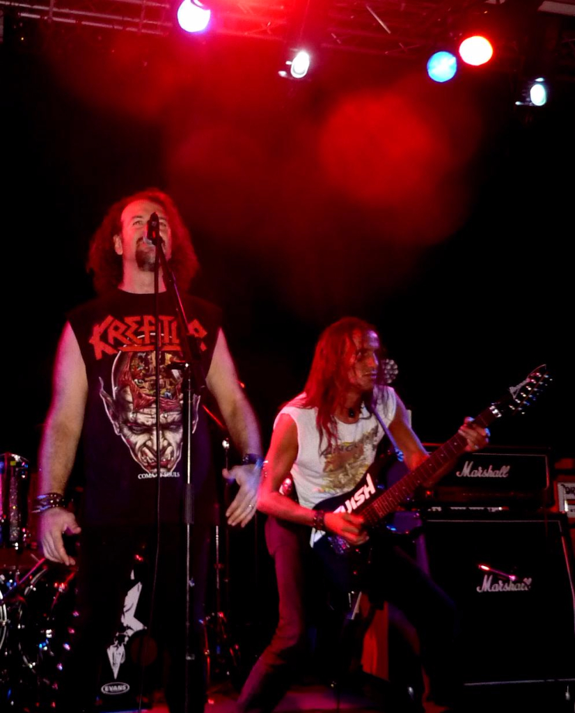 Supporting Sepultura 33