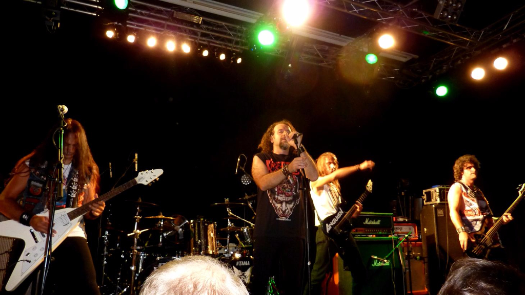 Supporting Sepultura 38