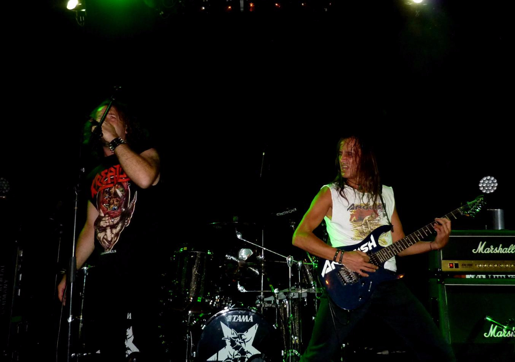 Supporting Sepultura 40