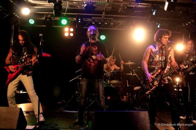 Raining Blood Night - Livestage Innsbruck 19