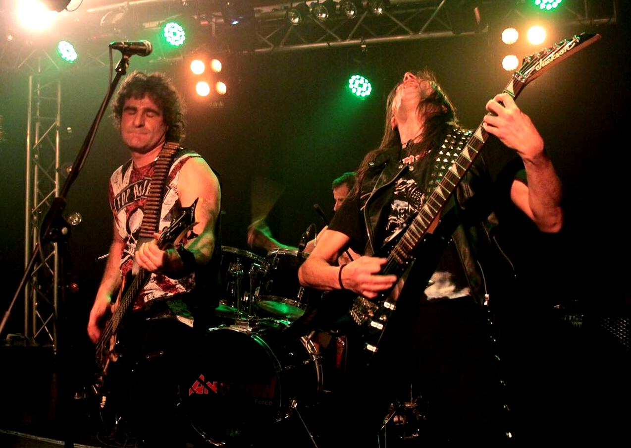 Raining Blood Night - Livestage Innsbruck 86