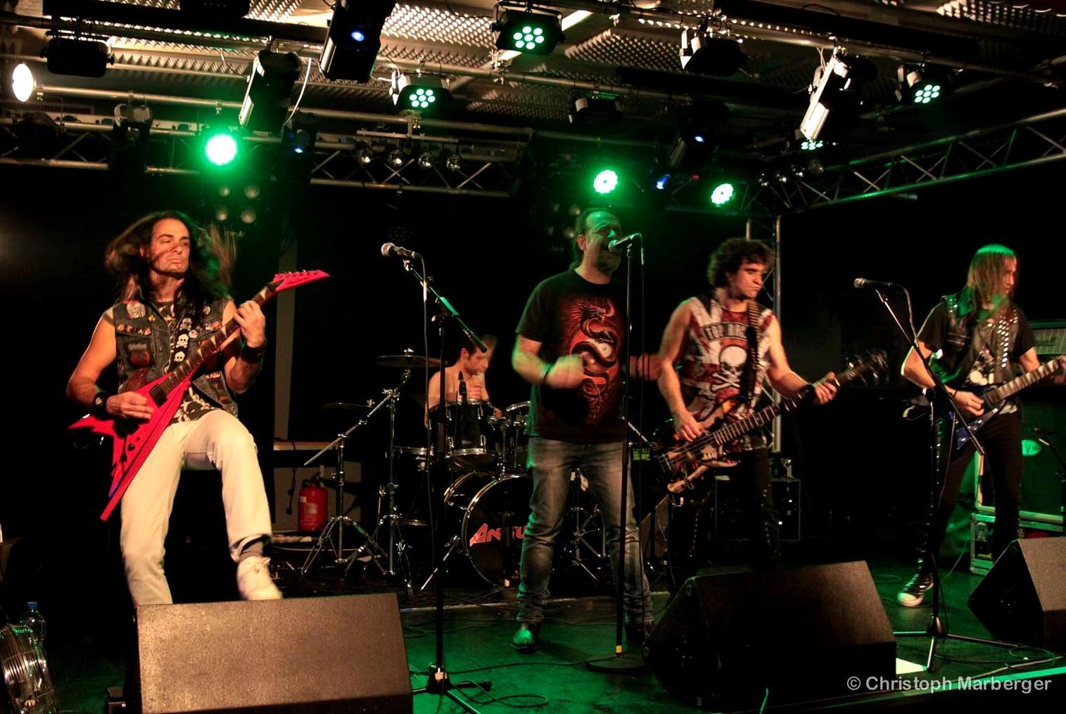 Raining Blood Night - Livestage Innsbruck 101